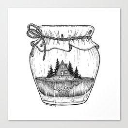 Jar of Dreams Canvas Print