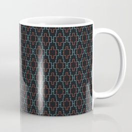 Abstract geometric surface  / The L pattern 1 Coffee Mug