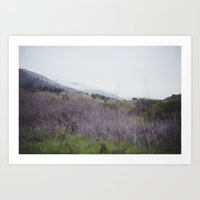middle earth Art Prints featuring middle earth by anjastensrud