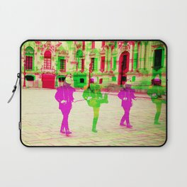 Peruvian Soldiers  Laptop Sleeve
