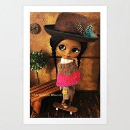 My Delicious Bliss Custom Doll Evangeline Art Print