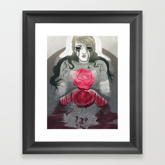 The End (Part 1) Framed Art Print
