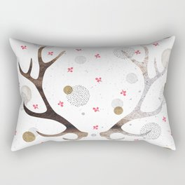 Reindeer horns Rectangular Pillow