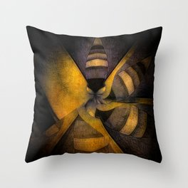 escape the hive Throw Pillow