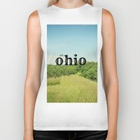 ohio Biker Tanks featuring Hello Ohio by KimberosePhotography