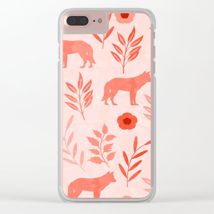 Forest Animal and Nature II Clear iPhone Case