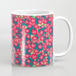 cherry blossom sakura eclectic flower pattern Coffee Mug