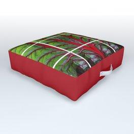 Swiss Chard - Leaf of Life Outdoor Floor Cushion