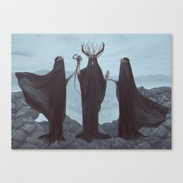 Unholy Trinity Canvas Print