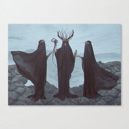 Unholy Trinity Canvas Print