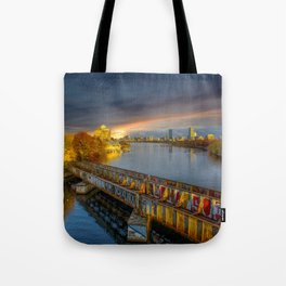 Graffiti bridge Tote Bag