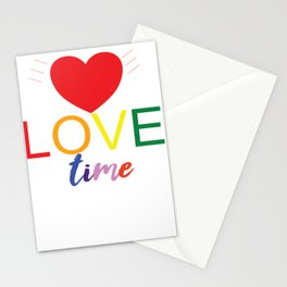 Heart it is LoveTime Stationery Cards