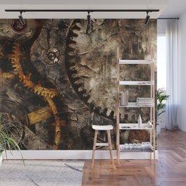 Gearing Up - Steampunk Gears Wall Mural
