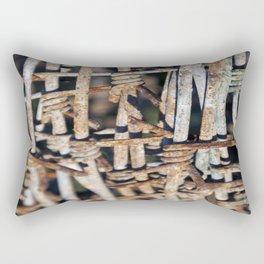 Miradas ocultas Rectangular Pillow