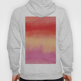 African colors 1 - watercolor abstract Hoody