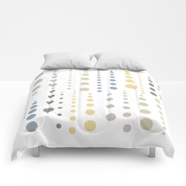 Earthen Color Drops 096 Comforters