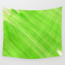 Green Watercolor Wall Tapestry