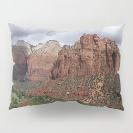 A View From Zion Mount Carmel Road  Pillow Sham