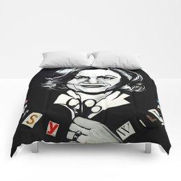 In Mom We Trust Comforters