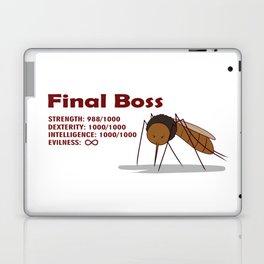 Final Boss - Red Letters Laptop & iPad Skin
