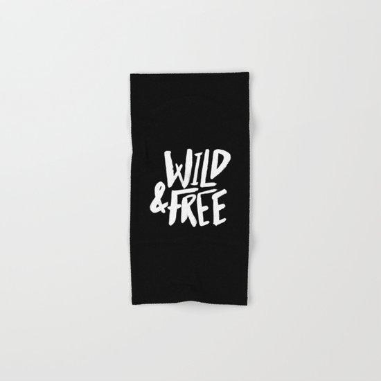 Wild and Free II Hand & Bath Towel