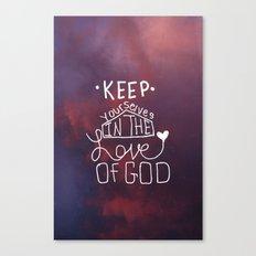 Love of GOD. Canvas Print