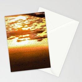Sunshine Gold Stationery Cards