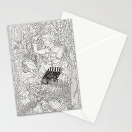 Minegishi with Plants Stationery Cards