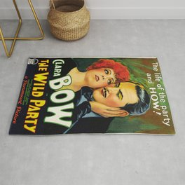 Classic Movie Poster - The Wild Party Rug