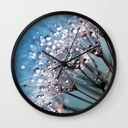 dandelion pissenlit 4 Wall Clock