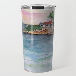 Croatian sunset Travel Mug