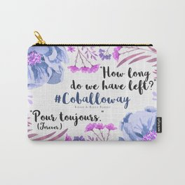 Pour Toujours Carry-All Pouch
