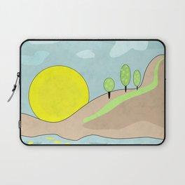 Sunrise , abstract Laptop Sleeve