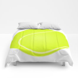 Tennis Ball Icon Comforters