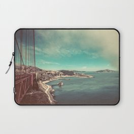 San Francisco Bay from Golden Gate Bridge Laptop Sleeve