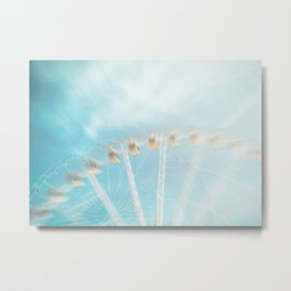 In the sky Metal Print