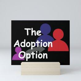 """The Adoption Option"" TV Show Logo Mini Art Print"