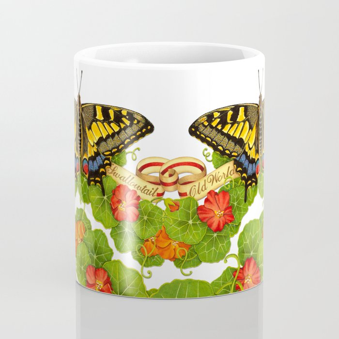 Old World Swallowtail Butterfly Coffee Mug