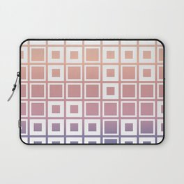 Mosaic Cubes on pastel color Laptop Sleeve