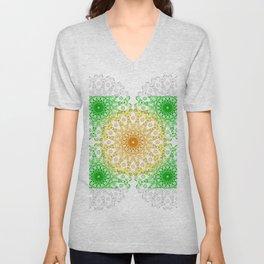Mandala Calamar Unisex V-Neck