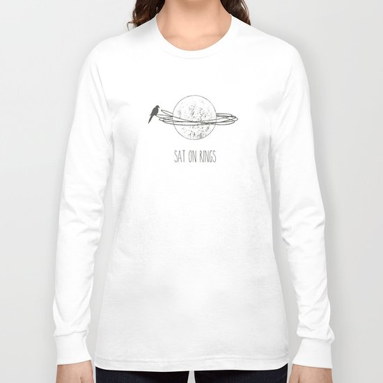 Sat On Rings Long Sleeve T-shirt
