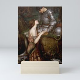 Lamia - John William Waterhouse Mini Art Print