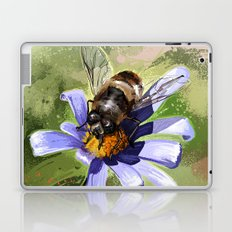 Bee on flower 18 Laptop & iPad Skin