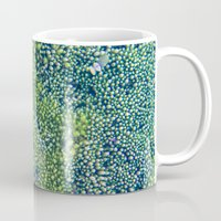 moss Mugs featuring Moss by Scarlet