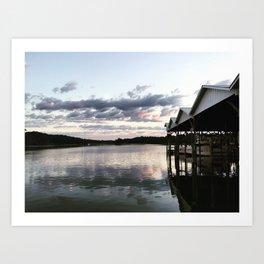 Corinthian Yacht Club (Ridge, MD) Art Print