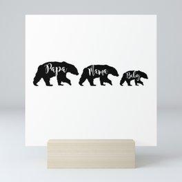 we are family Mini Art Print