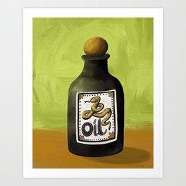 Snake Oil Art Print