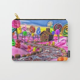Pink Candyland Carry-All Pouch