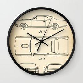 Pontiac GTO vintage Wall Clock