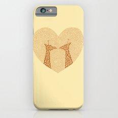 Giraffes in Love Slim Case iPhone 6s